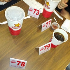 Photo taken at Carl's Jr. | 卡乐星 by Charles H. on 8/16/2012