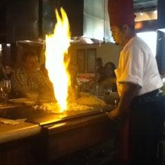 Photo taken at Kanki Japanese House of Steaks & Sushi by Shinae L. on 4/27/2012