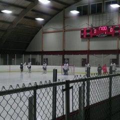 Photo taken at Minnehaha Academy Ice Arena by Kesia M. on 2/8/2012