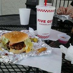 Photo taken at Five Guys by Linda M. on 3/15/2012