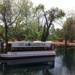 Photo taken at Texas State Aquarena Center by Josh G. on 4/5/2012