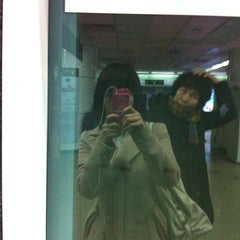 Photo taken at 서면역 (Seomyeon Stn.) by Bling L. on 3/12/2012
