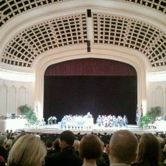 Photo taken at Macky Auditorium by Aileen H. on 5/12/2012