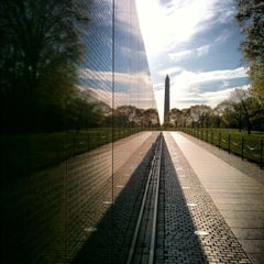 Photo taken at Vietnam Veterans Memorial by Mike R. on 4/5/2012