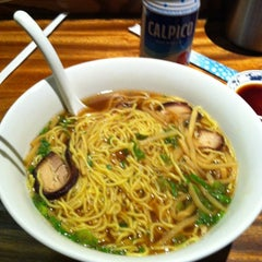 Photo taken at Monta Japanese Noodle House by Jonathan C. on 4/6/2012