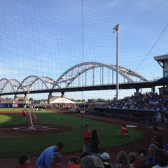 Photo taken at Modern Woodmen Park by Bob R. on 6/14/2012