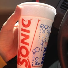 Photo taken at SONIC Drive In by Catherine S. on 3/10/2012