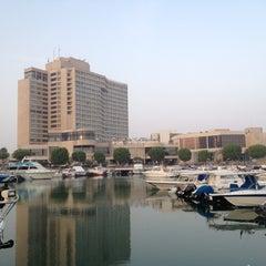 Photo taken at InterContinental Abu Dhabi by Shon on 8/25/2012