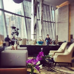 Photo taken at Lobby Bar by Andrew M. on 5/31/2012