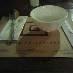 Photo taken at Ngon Restaurant by Huyen Truong on 3/6/2012