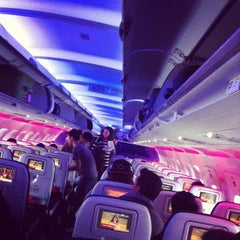 Photo taken at Virgin America by Drake M. on 5/28/2012