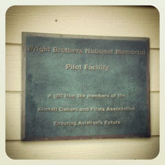 Photo taken at Wright Memorial Pilot's Facility by Beentheredoingthat on 9/2/2012