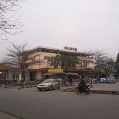Photo taken at Ga Lào Cai (Lao Cai Station) by Mike N. on 3/14/2012