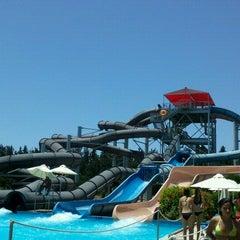 Photo taken at Fasouri Watermania Waterpark by Eleuteria on 7/12/2012
