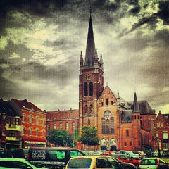 Photo taken at Spiegelplein / Place du Miroir by Olivier M. on 7/20/2012