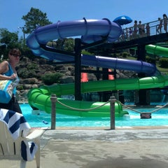 Photo taken at Ocean Breeze Waterpark by Jennie M. on 6/9/2012