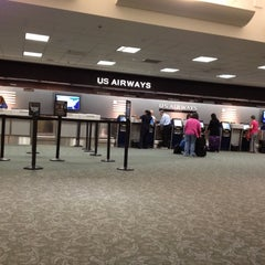 Photo taken at US Airways Ticket Counter by Javier F. on 5/15/2012