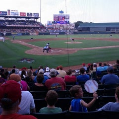 Photo taken at Dell Diamond by Dustin B. on 7/15/2012