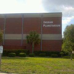 Photo taken at Ingram Planetarium by Edith G. on 6/16/2012