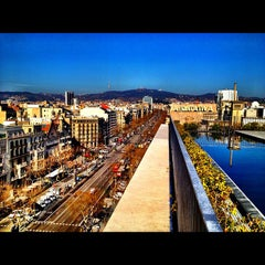 Photo taken at Mandarin Oriental, Barcelona by Alvaro G. on 3/12/2012