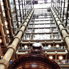 Photo taken at Lloyd's of London by Nicholas D. on 8/31/2012