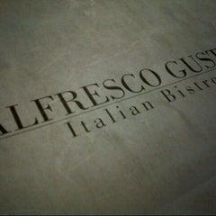 Photo taken at Alfresco Gusto Italian Bistro by Anfernee T. on 8/8/2012
