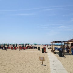Photo taken at Spiaggia Libera by Marco A. on 8/2/2012