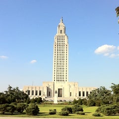 Photo taken at Louisiana State Capitol by Jody G. on 10/26/2011