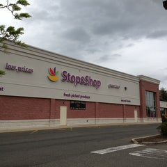 Photo taken at Super Stop & Shop by Mia 江. on 5/8/2012