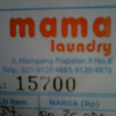 Photo taken at Mama laundry by Laili J. on 1/25/2012