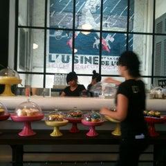 Photo taken at L'USINE: Et la Cafeteria de L'Usine by Michele M. on 7/23/2012