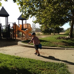 Photo taken at Kemp Park by Natasha S. on 8/26/2012