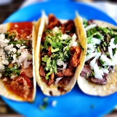 Photo taken at La Lucha - Tacos & Boutique by Nikki C. on 9/10/2011