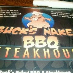 Photo taken at Buck's Naked BBQ by Jennifer M. on 3/3/2012