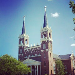 Photo taken at St. Aloysius Church by Matthew C. on 5/19/2012