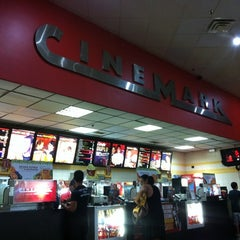 Photo taken at Cinemark by Andre Souza Dantas on 2/25/2012