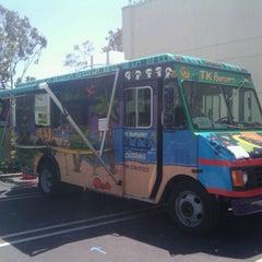 Photo taken at TK Burger Truck by Sharka L. on 4/29/2011