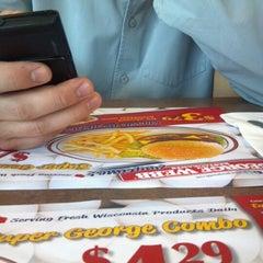Photo taken at George Webb Restaurants by Courtney M. on 4/1/2012