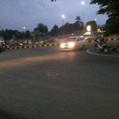 Photo taken at Gerbang Tol Jati Bening by iwan t. on 1/3/2012