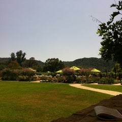 Photo taken at Brix Restaurant and Gardens by Taylor T. on 7/27/2011