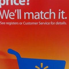 Photo taken at Walmart Supercenter by Kevin H. on 6/26/2012