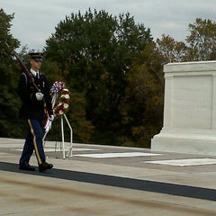 Photo taken at Tomb of the Unknowns by Angela on 10/22/2011