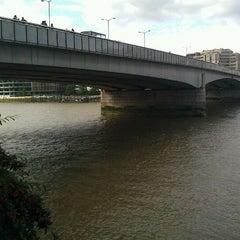 Photo taken at London Bridge by Chris on 9/19/2011