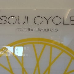 Photo taken at SoulCycle East 83rd by Foodie O. on 7/2/2012
