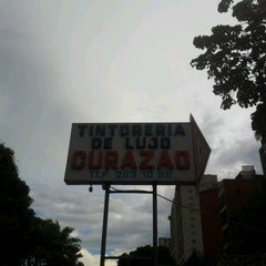 Photo taken at Tintoreria Curazao by Yea T. on 8/31/2012