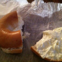 Photo taken at Daniel's Bagels by Angela L. on 2/15/2012