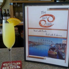 Photo taken at Back Eddy Bistro by Amelia D. on 9/6/2011