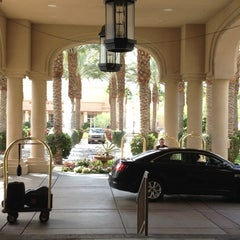 Photo taken at Hyatt Regency Indian Wells Resort & Spa by Christine B. on 3/19/2012