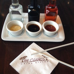 Photo taken at P.F. Chang's Asian Restaurant by Jessica A. on 4/28/2012