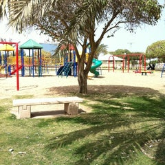 Photo taken at Prince Bin Jalawy Park by Ghada A. on 3/26/2012